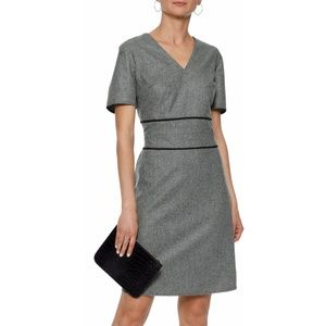 RAOUL Plaid Houndstooth Knit Dress from Netaporter